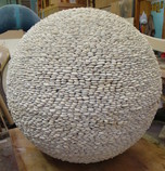Japanese White Pebble Sphere