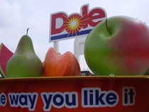 Dole Promotion Stand
